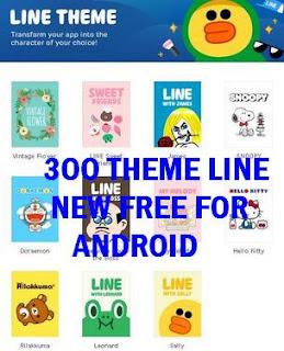 300 Tema Line Terbaru Gratis Semua Android