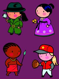 Clip Art: Serie de Personajes (6)