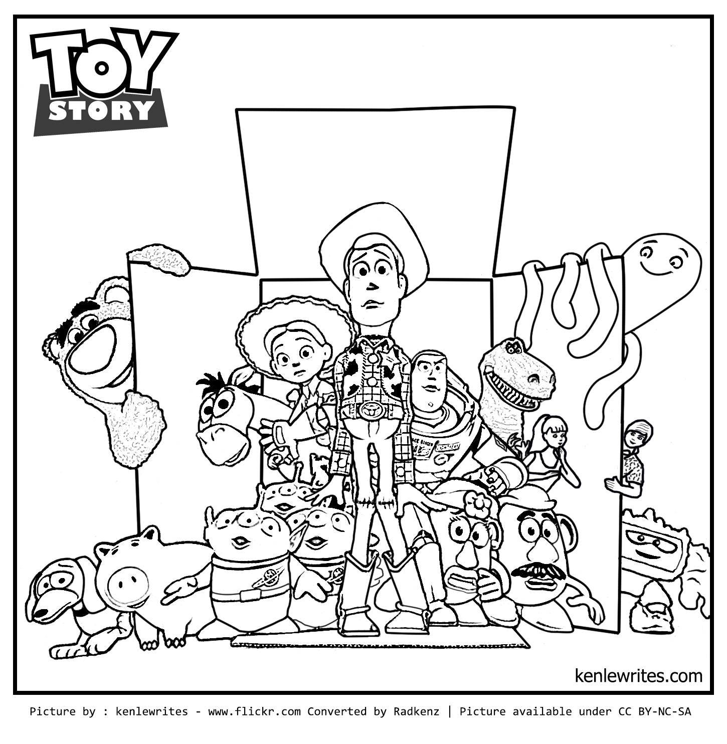 Rex Toy Story Friends