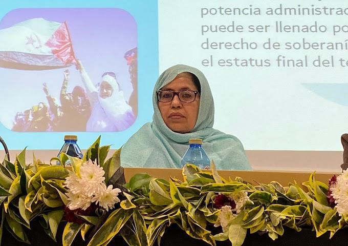 Conferencia internacional de Vigo; Intervención completa de la delegada del Frente Polisario para España, Jira Bulahi