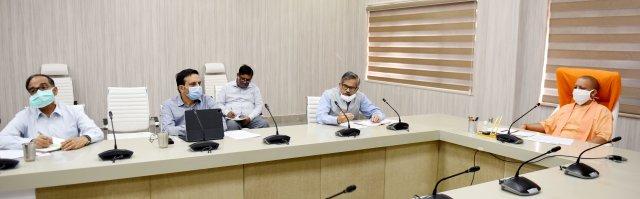 मुख्यमंत्री योगी ने प्रदेश के 16 जनपदों में कोविड-19 के प्रभावी नियंत्रण के सम्बन्ध में तैनात किए गए नोडल अधिकारियों को सम्बोधित किया