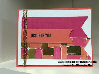 Stampin' Up! Sure Do Love You Painted with Love Designer Series Paper