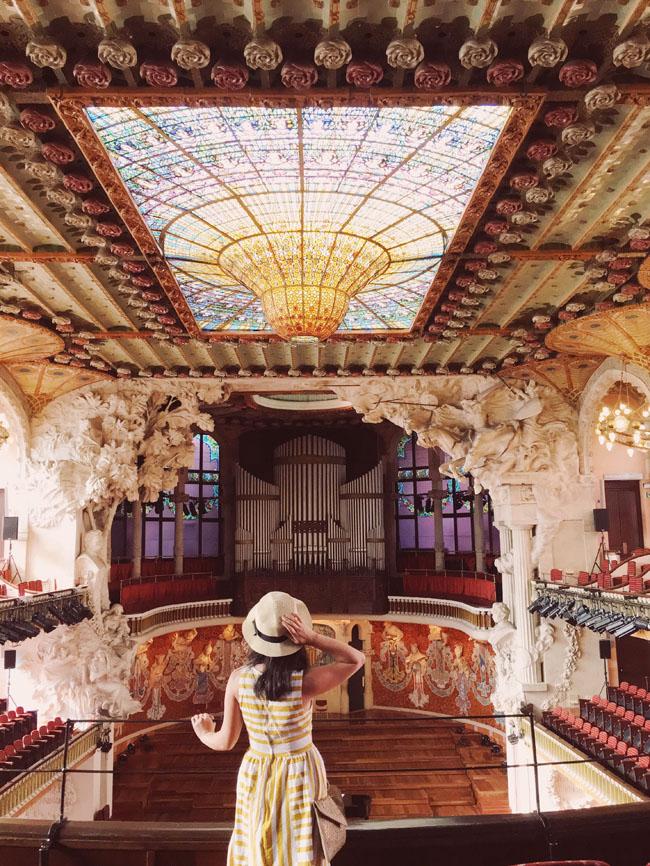 Barcelona in 3 days - Barcelona travel guide - Palau de la Musica Catalana