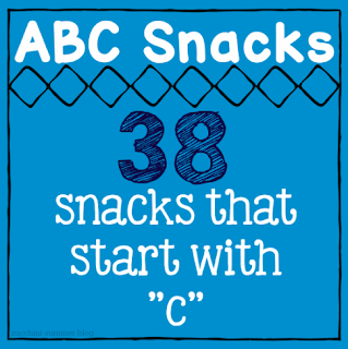 snacks letter c, preschool letter of the week, kindergarten snacks