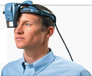 Figure 5: Virtual Retinal System HMD.