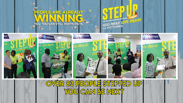 People Are Already Winning In The Ongoing Haier Thermocool Step up Promo