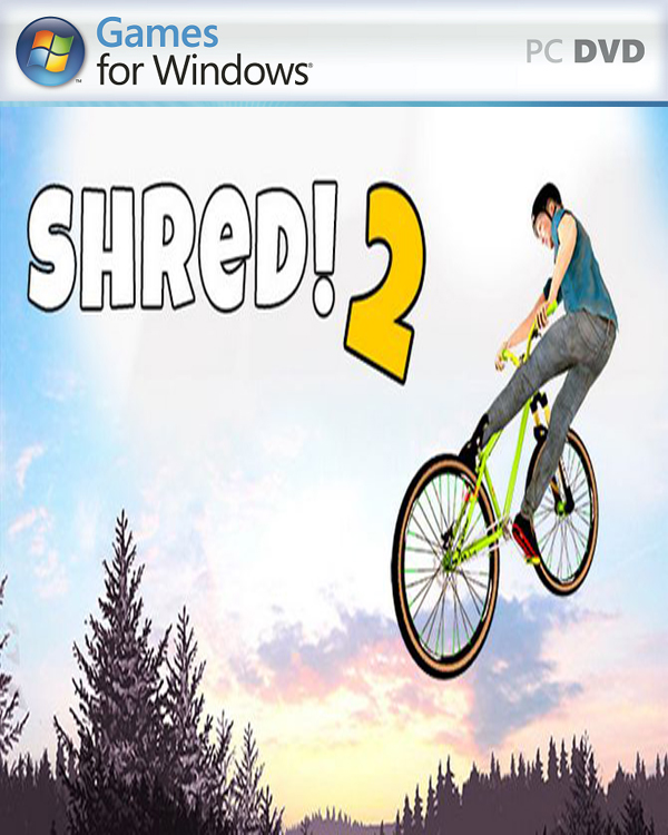 Shred 2 v1.4 PC Cover