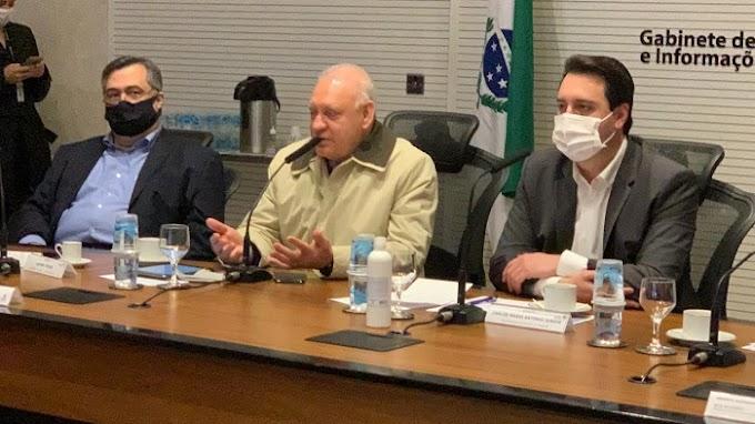 Assembleia do Paraná repassa R$ 100 milhões para Paraná comprar vacinas contra a Covid-19