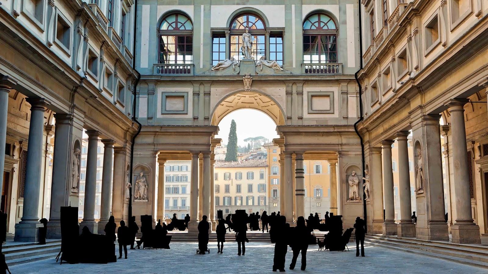 matteo-lezzi-Uffizi Gallery Court