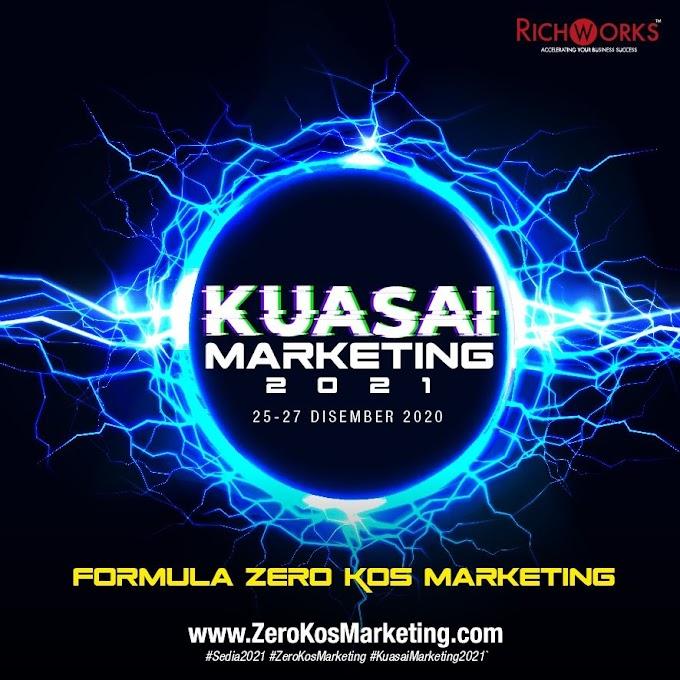 Majukan Diri Dan Bisnes Dengan Kuasai Marketing 2021 Secara Percuma Bersama RichWorks