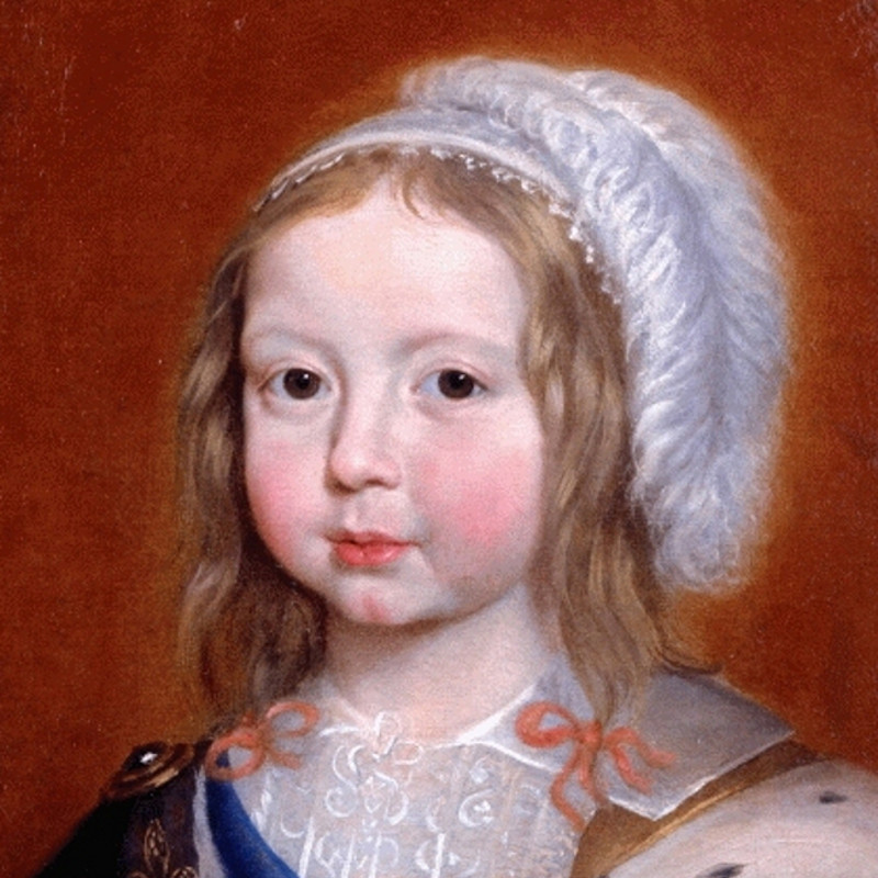 Portrait of King Louis XIV, age 4. | Lydia Sanders #TwistyMustacheReviews