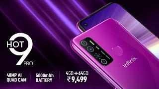 Infinix Hot 9 Pro first sale in India Today via Flipkart