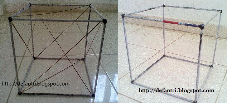 Bagaimana Membuat Alat Peraga Rangka Bangun Ruang yang Terbuat Dari Kertas
