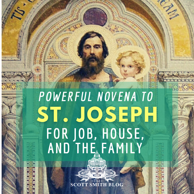 Powerful Novena to St. Joseph for Work, Family, Job, Employment, to Sell House