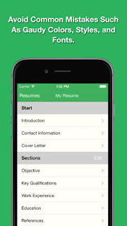 smart resume pro iphone app