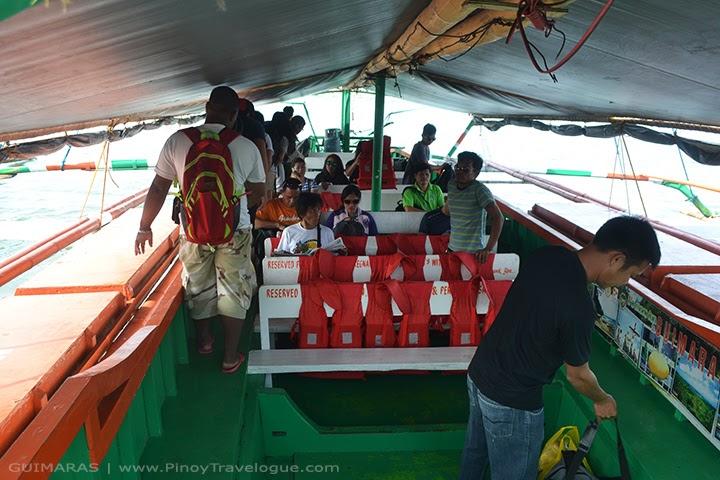 Passenger boats in Ortiz Wharf