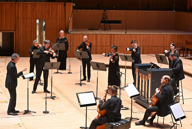 Telemann's Cantata 'Der am Olberg Zagende Jesus' - Roderick Williams, Orchestra of the Age of Enlightenment (Photo Southbank Centre /BBC Radio 3 /Mark Allan)