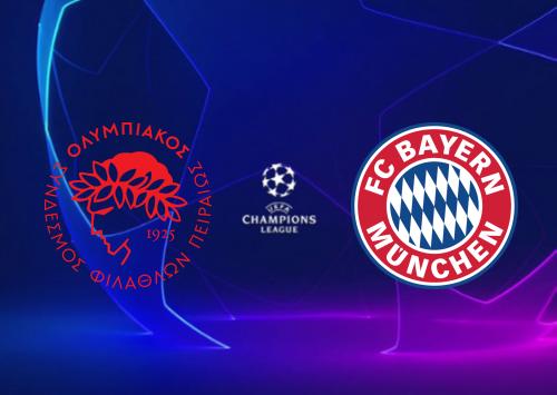 Olympiakos Piraeus vs Bayern München -Highlights 22 October 2019
