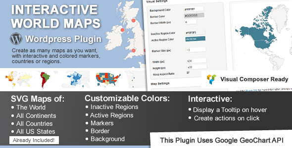 Interactive World Maps v2.4.9