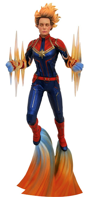 Toy Fair 2020 Diamond Select Marvel Gallery Captain Marvel 11-Inch Collectible PVC Statue Bianary Variant