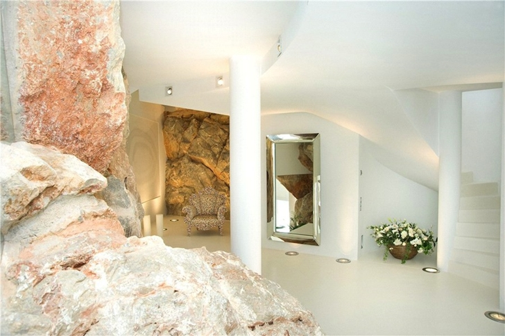 Stone and rocks in Mediterranean villa in Mallorca by Alberto Rubio