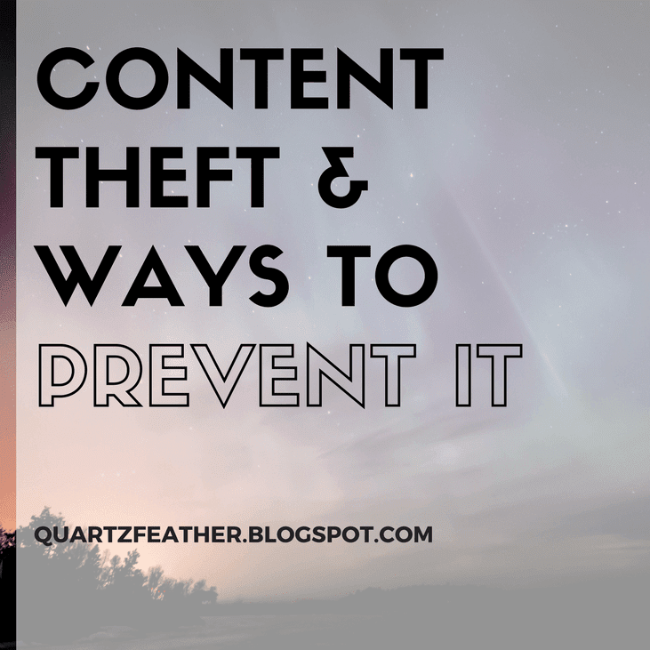 Content Theft & Ways to Prevent It