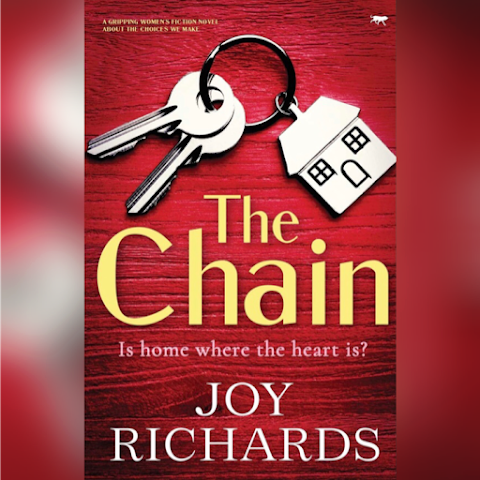 Is home where the heart is?…#TheChain #Review #PublicationDay #JoyRichards @Bloodhoundbook