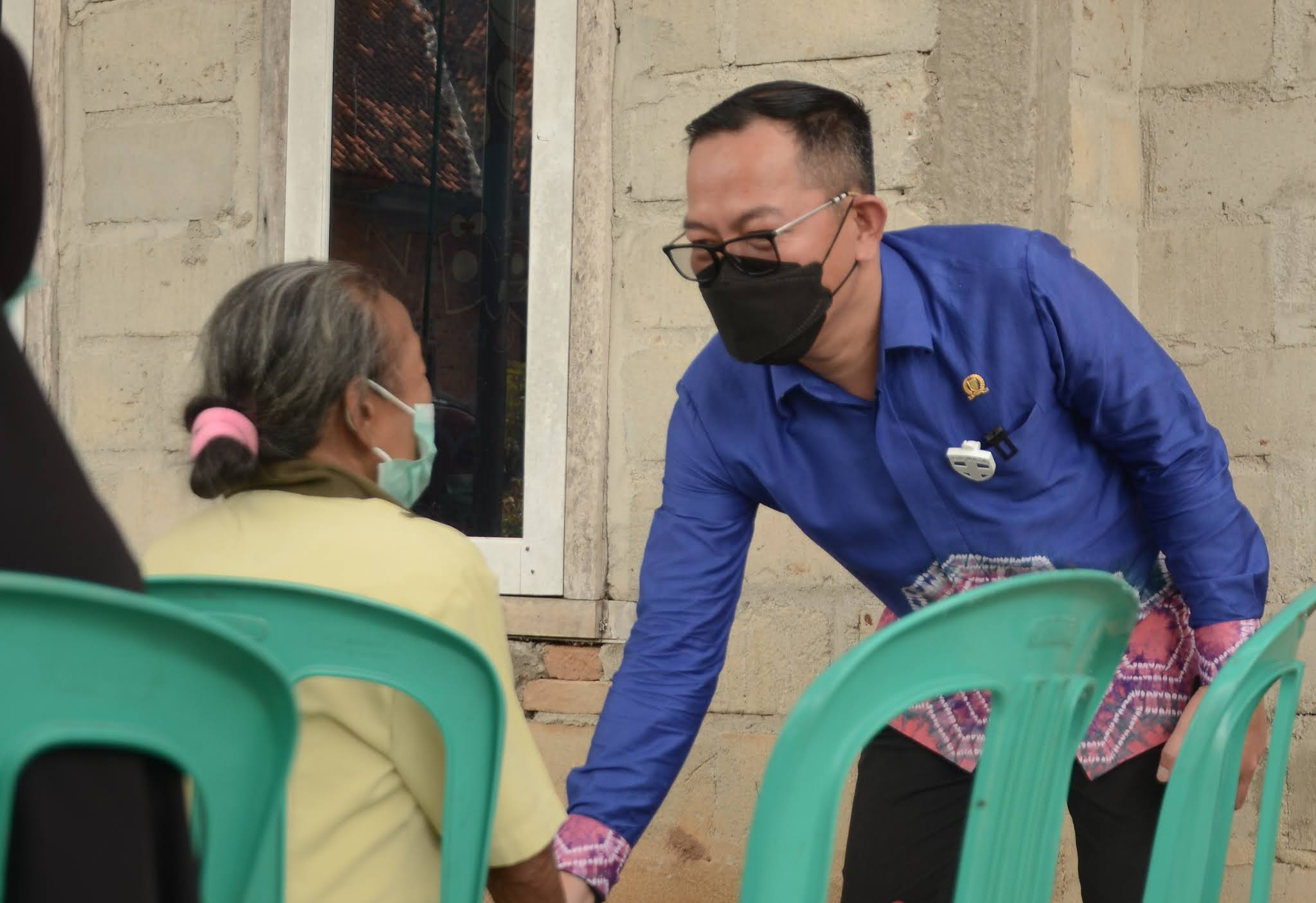 Reses ke Delapan Kecamatan, Deni Ribowo Dikeluhkan  Kelangkaan Pupuk & Harga Singkong