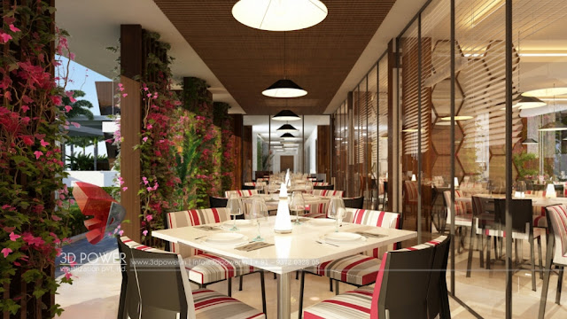 Best 3d Interior Rendering of ramada Hotel