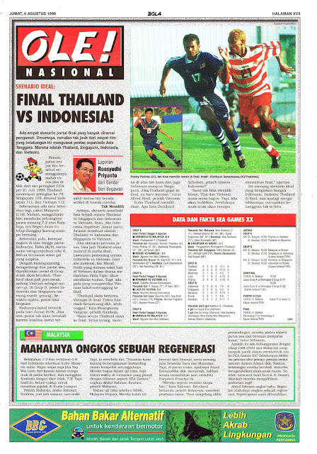 SKENARIO IDEAL FINAL THAILAND VS INDONESIA