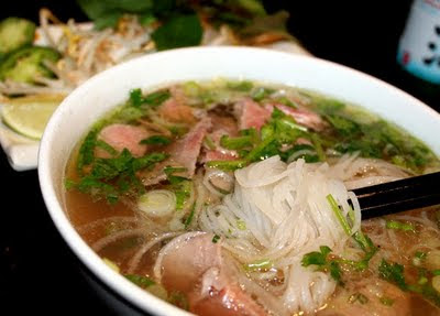 how to eat pho take out