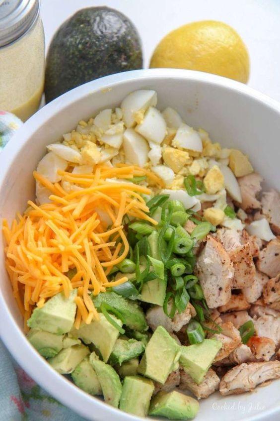 Avocado Chicken Salad (Low Carb)