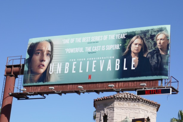 Unbelievable 2019 FYC billboard