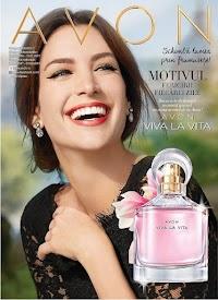 """Catalog Avon: """"Schimbă lumea prin frumusețe"""""""