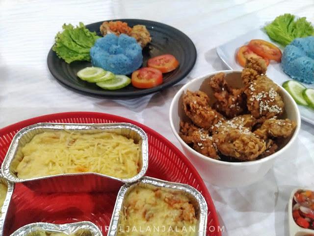 Menu sehat di Dapur Ming-Ming Yogyakarta