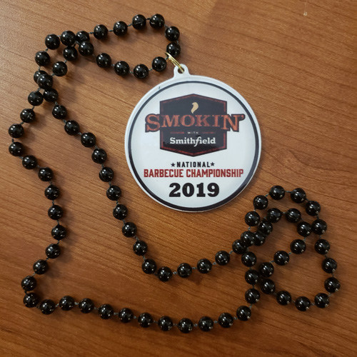 Bling from the 2019 Smokin' with Smithfield National Barbecue Championship