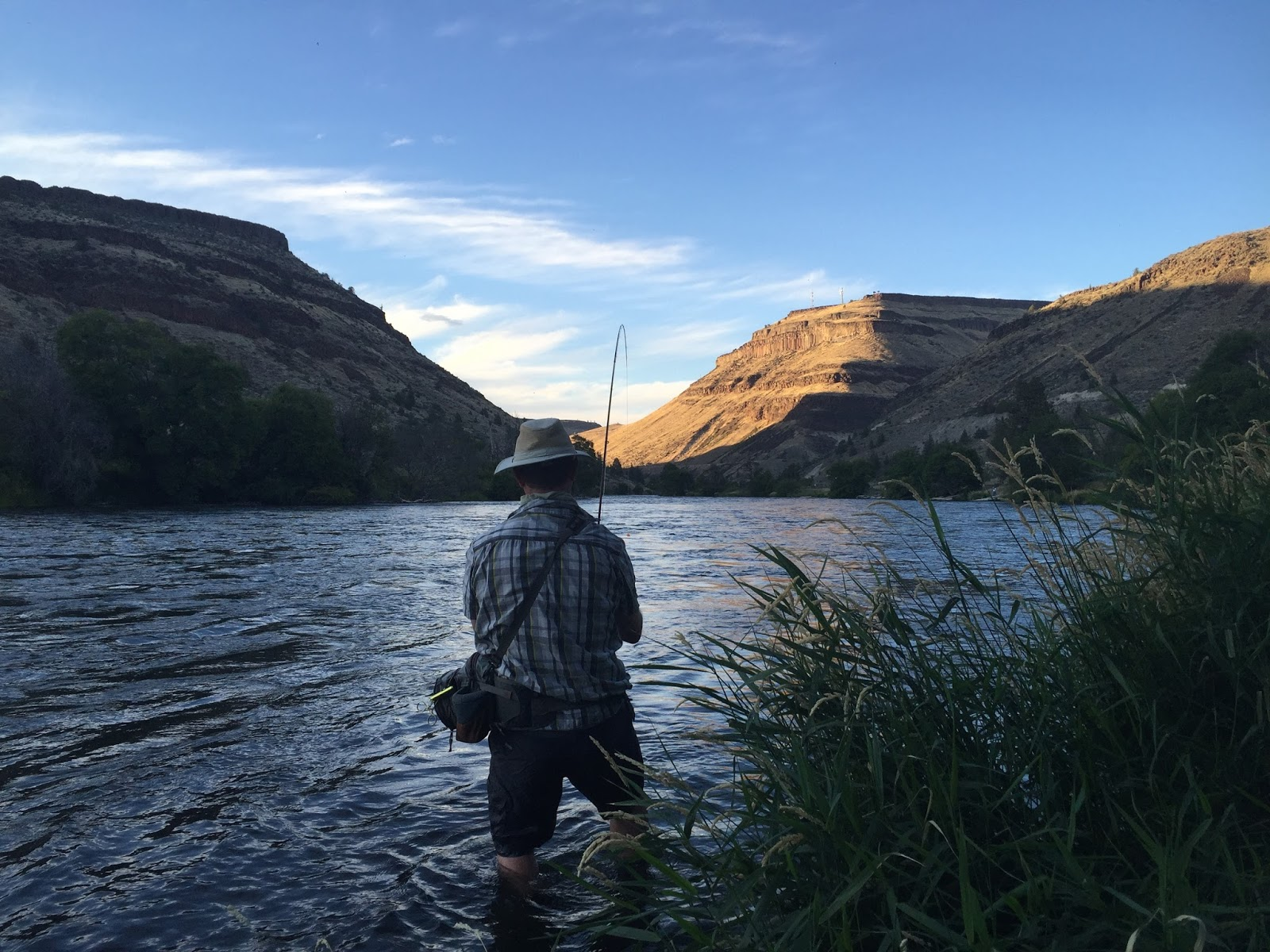 River borne outfitters blog fishing reports deschutes for Central oregon fishing report