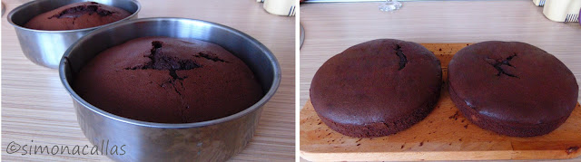 Tort de ciocolata cu bile din cocos c
