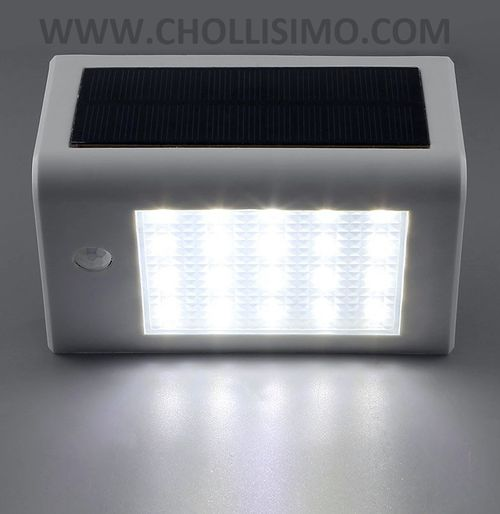 Lampara solar exterior con sensor de movimiento DECKEY