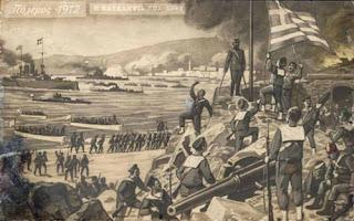 11 Νοεμβρίου 1912, η απελευθέρωση της Χίου.
