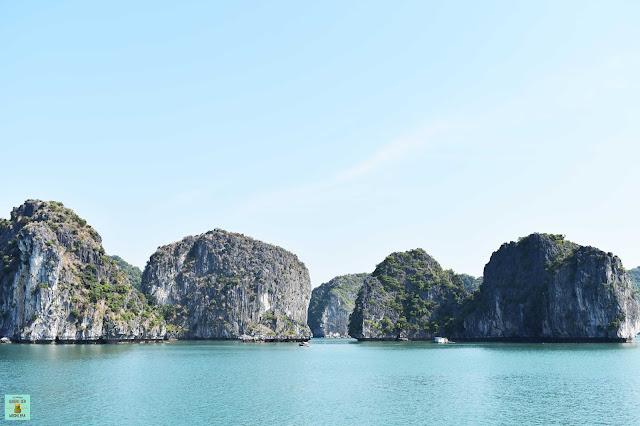 Bahía de Halong en Vietnam