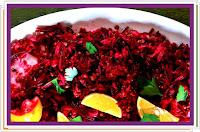 Salát rýžovo-čočkový s červenou řepou - Recepty a vaření