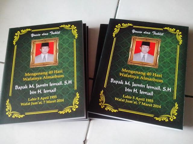 Cetak yasin dan buku termurah di Jakarta