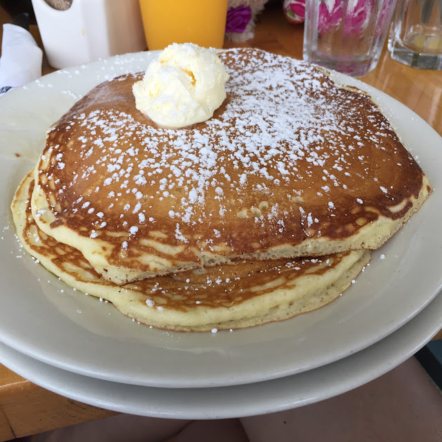 Pancakes | Right Fork Diner | Edgartown | Chichi Mary Blog