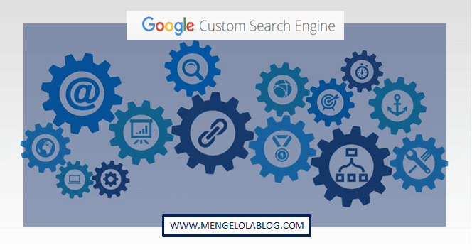 memasang dan membuat Google Custom Search Engine