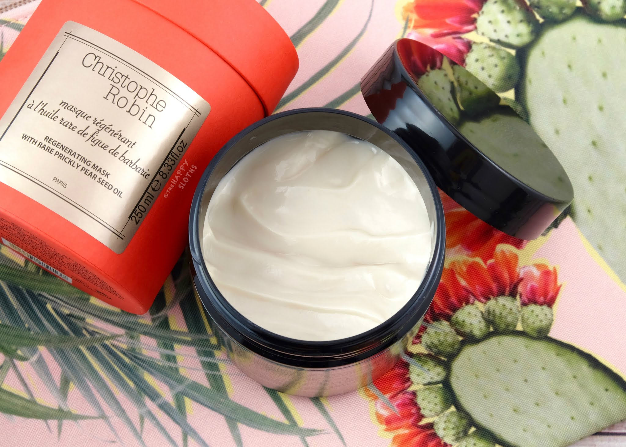 Christophe Robin | Regenerating Hair Mask with Prickly Pear Seed Oil: Review