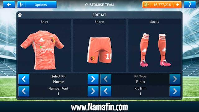Url Baju Dream League Soccer Watford FC 2020