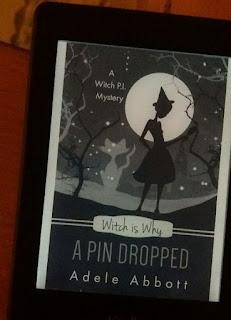 das Cover zeigt eine stiliisierte Hexe und eine Katze