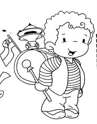 Dibujos Fiestas Patrias De Chile Huaso Cueca Busco Imagenes