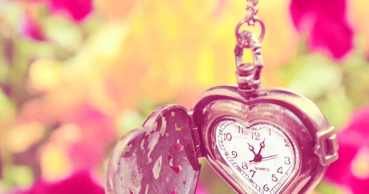 Fondos De Pantalla Gratis San Valentin 16: Fondo De Pantalla Dia De San Valentin Reloj De Bolsillo
